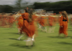 Kate Bush Day II (annemcgr) Tags: katebush singer song music heathcliff wutheringheights red dress enactment icm slowshutterspeed intentionalcameramovement fineartphotography
