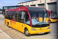 Go North East Venture 646 / NL63 XZT (TEN6083) Tags: consett hownsgill m890 solosr optare nl63xzt 646 venture gonortheast publictransport transport
