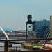 Glasgow skyline from the Kingston Bridge