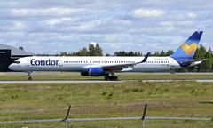 Condor D-ABOB, OSL ENGM Gardermoen (Inger Bjørndal Foss) Tags: dabob condor boeing 757 osl engm gardermoen