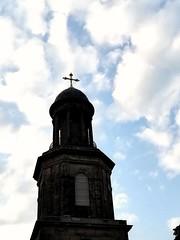 St. Chads (daveandlyn1) Tags: somebluesky clouds cross dome church stchads shrewsbury smartphone psdigitalcamera cameraphone pralx1 p8lite2017 huawei