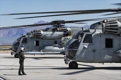 Sikorsky CH-53E Super Stallion - 15 (NickJ 1972) Tags: phoenix mesa gateway airport 2019 aviation sikorsky ch53 super stallion 162520 cj20 162526 cj16