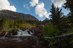 Below Red Rock Falls (Ken Krach Photography) Tags: redrockfalls glaciernationalpark