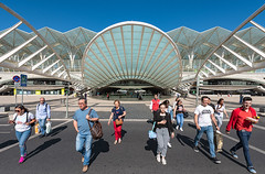 _DS16794 - Gare do Oriente (AlexDROP) Tags: 2019 portugal lisboa lisbon europe art travel architecture color wideangle street people nikond750 tamronaf1735mmf284diosda037 best iconic famous mustsee picturesque postcard geometry