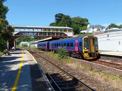 158763 Torre (8) (Marky7890) Tags: gwr 158763 class158 expresssprinter 2t16 torre railway devon rivieraline train