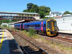 158763 Torre (7) (Marky7890) Tags: gwr 158763 class158 expresssprinter 2t16 torre railway devon rivieraline train