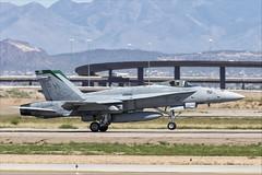 McDonnell Douglas FA-18C Hornet - 10 (NickJ 1972) Tags: phoenix mesa gateway airport 2019 aviation mcdonnelldouglas fa18 hornet usmc 164025 sh151