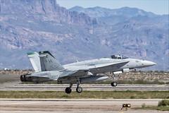 McDonnell Douglas FA-18C Hornet - 12 (NickJ 1972) Tags: phoenix mesa gateway airport 2019 aviation mcdonnelldouglas fa18 hornet usmc 164025 sh151