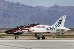 Boeing T-45C Goshawk - 29 (NickJ 1972) Tags: phoenix mesa gateway airport 2019 aviation mcdonnelldouglas boeing t45 hawker siddeley hawk goshawk usnavy 167099 b321 redhawks