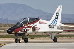 Boeing T-45C Goshawk - 30 (NickJ 1972) Tags: phoenix mesa gateway airport 2019 aviation mcdonnelldouglas boeing t45 hawker siddeley hawk goshawk usnavy 167099 b321 redhawks