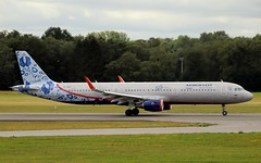 Aeroflot, VP-BEE, MSN 6726, Airbus A 321-211 SL, 16.07.2019, HAM-EDDH, Hamburg (Named: Y.Lubimov & 95 years with you livery) (henryk.konrad) Tags: aeroflot vpbee msn6726 airbus a321 321211sl hamburg hameddh henrykkonrad ylubimov 95yearswithyou