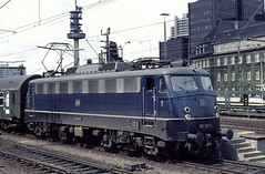 DB 110 368 Hannover Hbf 27.05.1977 (Bernd Magiera) Tags: db br110 strecke1773 70er