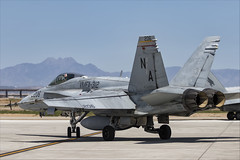 McDonnell Douglas FA-18C Hornet - 37 (NickJ 1972) Tags: phoenix mesa gateway airport 2019 aviation mcdonnelldouglas fa18 hornet usmc 164956 na206