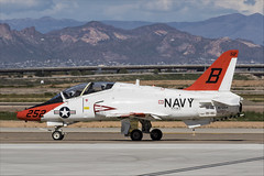 Boeing T-45C Goshawk - 23 (NickJ 1972) Tags: phoenix mesa gateway airport 2019 aviation mcdonnelldouglas boeing t45 hawker siddeley hawk goshawk usnavy 167094 b252