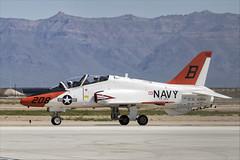 McDonnell Douglas T-45C Goshawk - 01 (NickJ 1972) Tags: phoenix mesa gateway airport 2019 aviation mcdonnelldouglas t45 hawker siddeley hawk goshawk usnavy 163608 b208