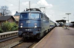 DB 110 367 Bf Elze 04.05.1980 (Bernd Magiera) Tags: db br110 strecke1732 80er