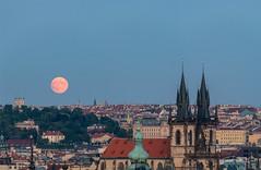 Měsíc, Zamění (gistudio.cz) Tags: měsíc praha ceskarepublika zamění