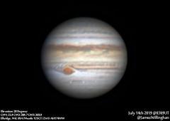 Jupiter-20190714_0309UT (JPWillinghan) Tags: jupiter planet grs