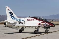 Boeing T-45C Goshawk - 44 (NickJ 1972) Tags: phoenix mesa gateway airport 2019 aviation mcdonnelldouglas boeing t45 hawker siddeley hawk goshawk usnavy 167099 b321 redhawks