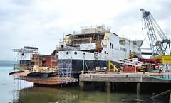 Glen Sannox (R~P~M) Tags: ship ferry vessel caledonianmacbrayne shipyard fergusonmarine portglasgow strathclyde scotland clyde uk unitedkingdom greatbritain