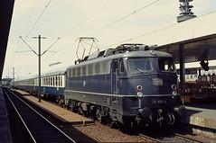 DB 110 370 Hannover Hbf 23.05.1977 (Bernd Magiera) Tags: db br110 strecke1773 70er