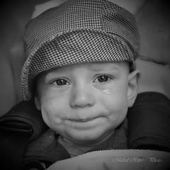 Tears do not mean sadness (Michal Ritter) Tags: czech czechrepublic portrait son michalritter boy children republic black white joy eyes nikon national nature people photographer