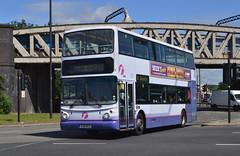 30955. YJ51 RCU: First South Yorkshire (chucklebuster) Tags: yj51rcu first south yorkshire york manchester doncaster volvo b7tl alexander alx400