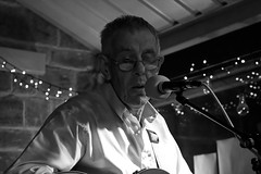 IMG_6172 (adamdinning) Tags: openmicnight lowlight portrait colour blackandwhite guitar fiddle acoustic music buskers live