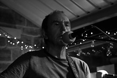 IMG_6087 (adamdinning) Tags: openmicnight lowlight portrait colour blackandwhite guitar fiddle acoustic music buskers live