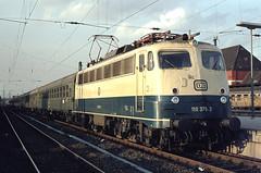DB 110 375 Bf Hamm (Westf) 05.10.1976 (Bernd Magiera) Tags: db br110 strecke1700 70er