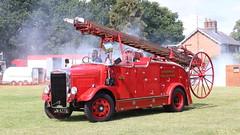 Leyland on parade (Duck 1966) Tags: leyland jm4779 ramseysteamfireshow ramseyruralmuseum fireengine