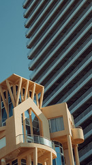 architecture contrasts (Conny Spandl) Tags: contrasts architecture telaviv israel panaso 45 mm