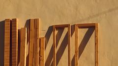 sunbathing shutters (Conny Spandl) Tags: shutters jaffa oldtown israel telaviv window painter golden hour panaso 45 mm