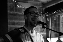 IMG_5982 (adamdinning) Tags: openmicnight lowlight portrait colour blackandwhite guitar fiddle acoustic music buskers live