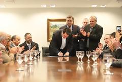 Reunião com representantes dos consórcios municipais