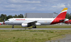 Iberia EC-LRG, OSL ENGM Gardermoen (Inger Bjørndal Foss) Tags: eclrg iberia airbus a320 osl engm gardermoen