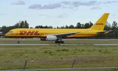 DHL G-DHKH, OSL ENGM Gardermoen (Inger Bjørndal Foss) Tags: gdhkh dhl boeing 757 osl engm gardermoen