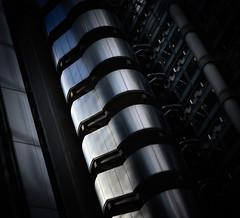 Lloyds Detail (John J Buckley) Tags: modern finance city building steel london lloyds architecture