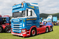 Steve Swain Scania S500 ML19YWU Malvern Truckfest 2019 (davidseall) Tags: steve swain scania s500 ml19ywu malvern truckfest 2019 show vabis ml19 ywu lorry truck tractor unit artic large heavy goods vehicle lgv hgv transport haulage worcerstershire uk