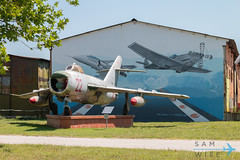 MiG-17PF Fresco Red 22 (Sam Wise) Tags: air mikoyan fighter aircraft bulgaria mig17 aviation museum jet gurevich krumovo bulgarian plovdiv force mig preservation