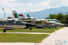 Row of Museum Aircraft (Sam Wise) Tags: air aircraft bulgaria aviation museum krumovo bulgarian plovdiv force preservation