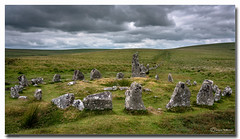 Down tor Stone Row (jeremy willcocks) Tags: downtorstonerow dartmoor devon ukjeremywillcockslrps©2019fujixt3xf1024mm landscape colour old clouds grumpy scene moor moors nationalpark westscountry southwest wwwsouthwestscenesmeuk jeremywillcocks