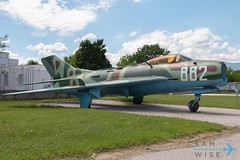 MiG-19 Farmer (Sam Wise) Tags: mikoyan aircraft plovdiv force fighter bulgaria air aviation preservation jet mig19 krumovo bulgarian gurevich farmer mig museum