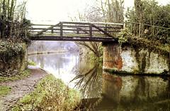 Slide 144-08 (Steve Guess) Tags: byfleet surrey england gb uk bridge wey navigation stoops drive nt national trust canal