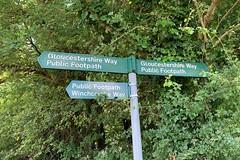 26 signpost (Margaret Stranks) Tags: winchcombearea gloucestershire
