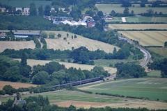 22 train approaching station (Margaret Stranks) Tags: winchcombearea gloucestershire