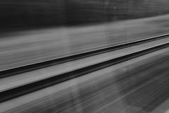 Fast Track (Jontsu) Tags: tracks fuji fujifilm xt3 35mm bw black white abstract exposure