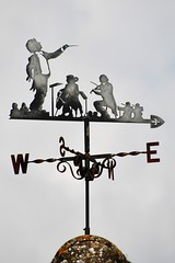 03 orchestral wind vane in Winchcombe (Margaret Stranks) Tags: winchcombearea gloucestershire