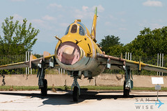 Su-22 Fitter (Sam Wise) Tags: air fitter su22 aircraft bulgaria aviation museum bomber attacker krumovo bulgarian plovdiv force sukhoi preservation