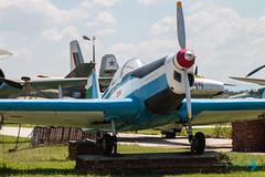 Zlin Z 326A (Sam Wise) Tags: air trainer aircraft bulgaria aviation museum bulgarian krumovo aerobatic plovdiv force zlin preservation
